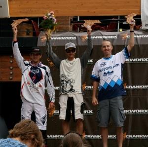 Jon Watt - 2nd Place Crankworx Dual Slalom