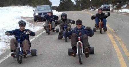 Bigwheel downhillin'