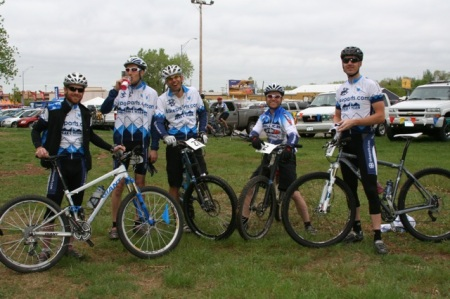 Team Bikeparts.com representing CO in SD!
