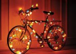 holiday light bike