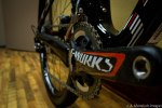 S-Works cranks were also redesigned for 2014, shedding weight and gaining stiffness... and the previous generation was already one of the stiffest and lightest available.