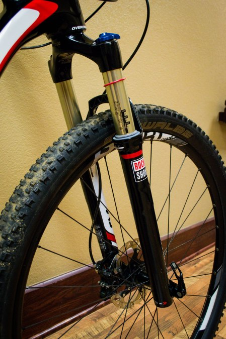 Rock Shox SID fork and PXCR-1 front wheel.