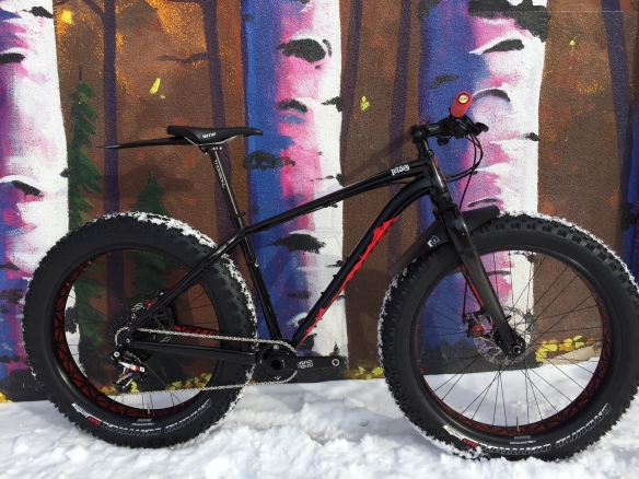 Specialized Fatboy, Med, 2015, Blk/Red | Peak Cycles