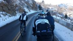 BikeParts.com Team Riders Training in Spring Weather