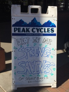 Peak Cycles Spring Savings Sale