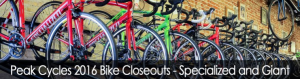 Sale at Peak Cycles / BikeParts.com