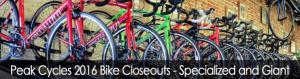 Sale at Peak Cycles / BikeParts.com