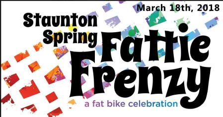 Staunton Spring Fattie Frenzy: A fat bike celebration